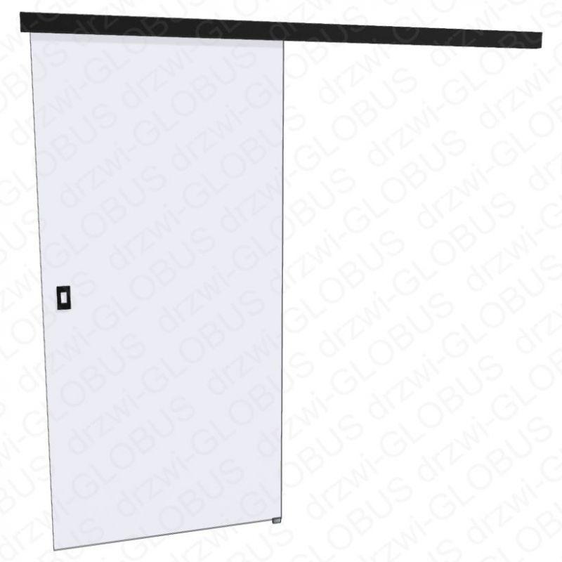 Drzwi szklane przesuwne LOFT 1