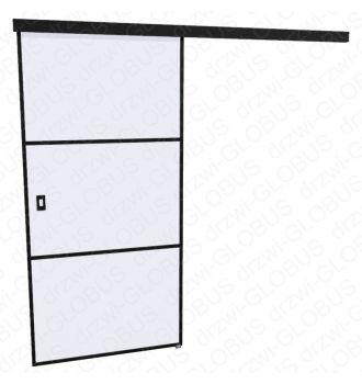 Drzwi szklane przesuwne LOFT 1 v3