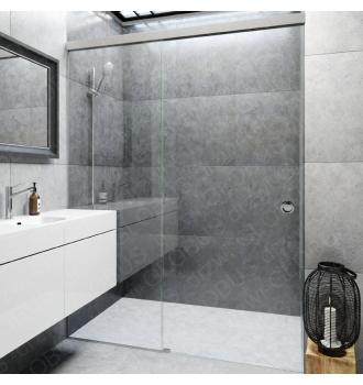 Kabina prysznicowa przesuwna 1 system SYSTEM ZAMKNIĘTY (na wymiar)