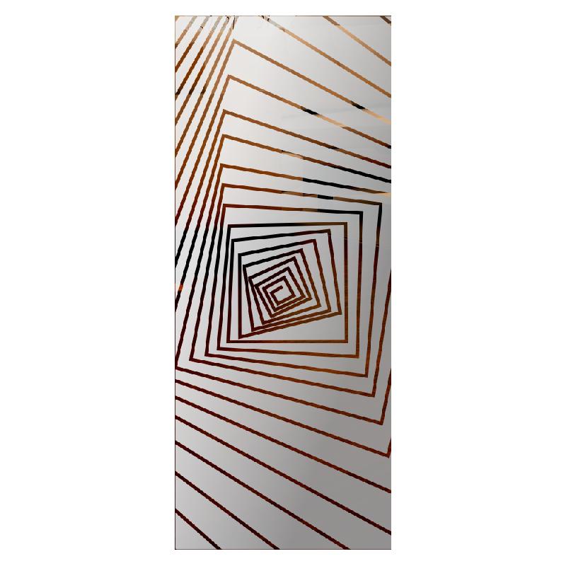 Wzór piaskowany nr 83 na drzwi szklane