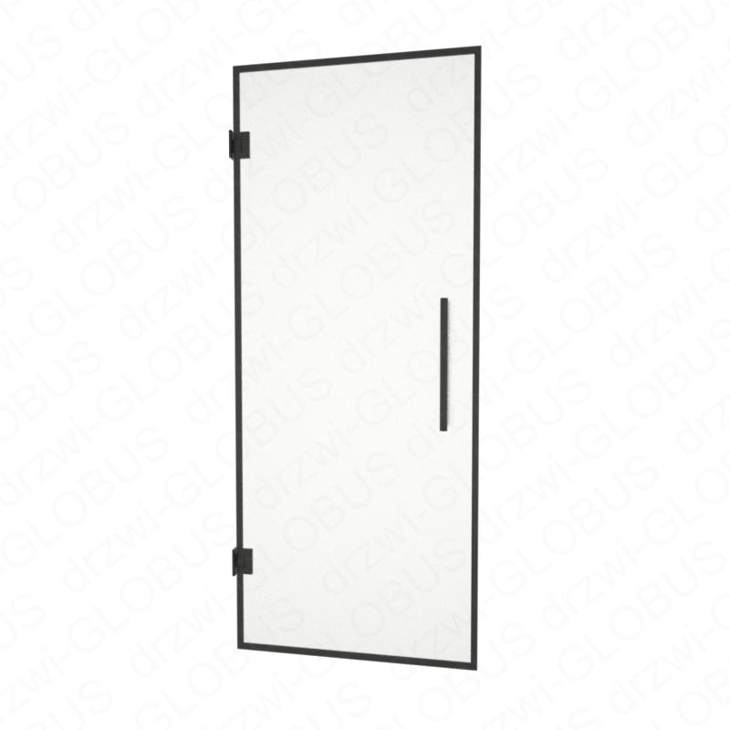 Drzwi szklane wahadłowe LOFT mocowane do ściany (na wymiar)