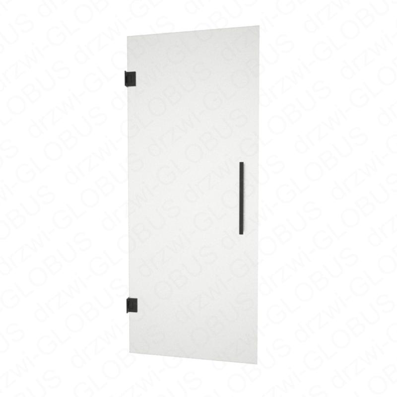 Drzwi szklane wahadłowe mocowane do ściany LOFT (na wymiar)