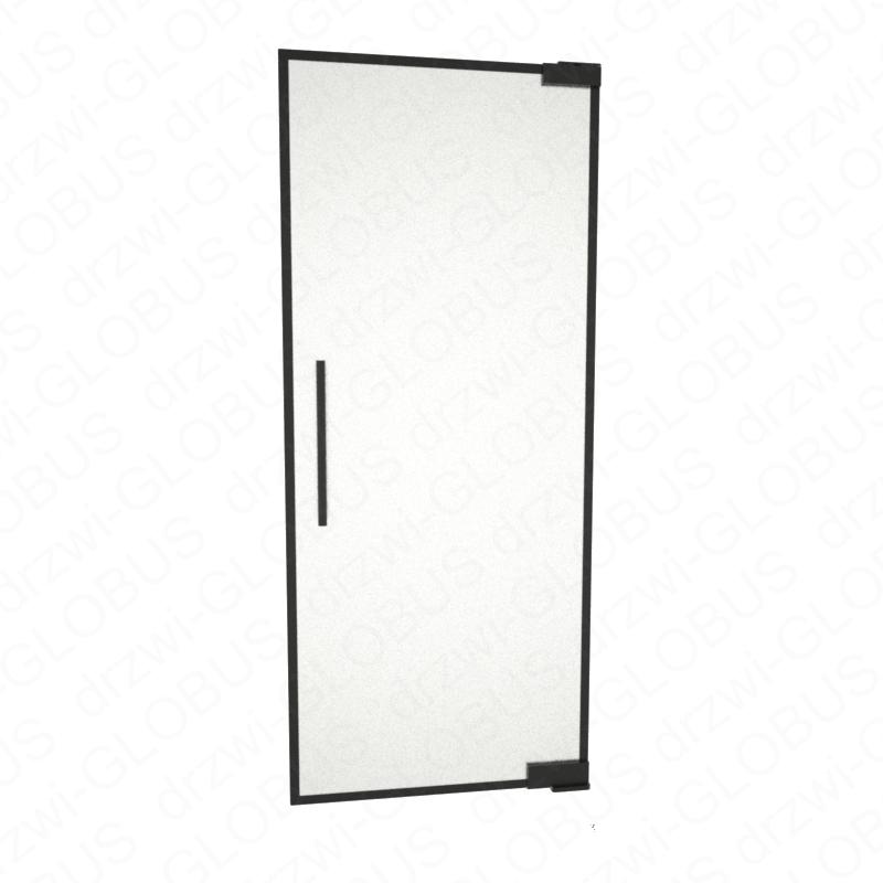 Drzwi szklane wahadłowe LOFT WZÓR 1 mocowane GÓRA/DÓŁ bez wkuwania ! (na wymiar)
