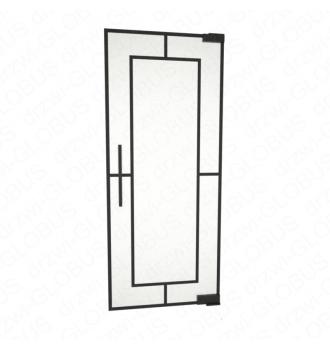 Drzwi szklane wahadłowe LOFT WZÓR 4 mocowane GÓRA/DÓŁ bez wkuwania ! (na wymiar)