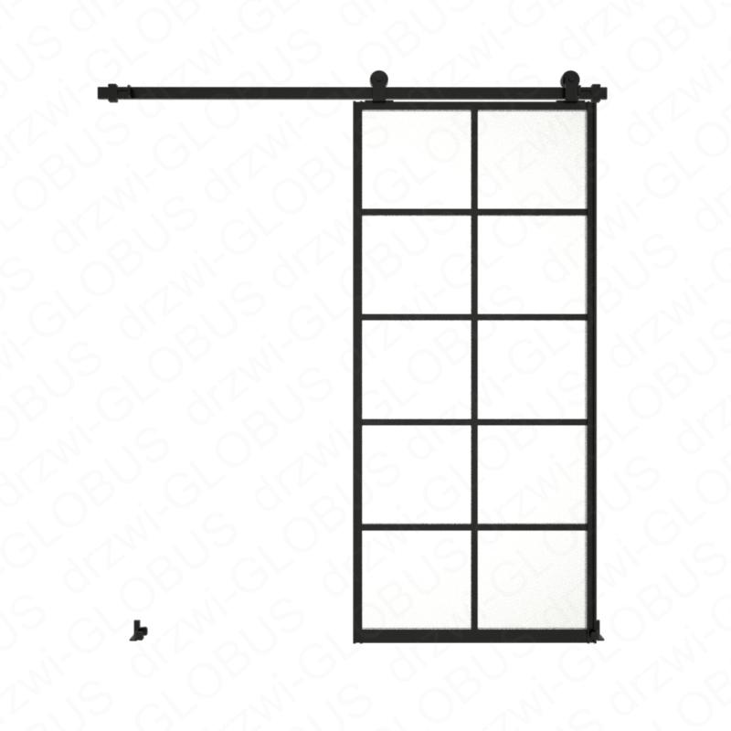 Drzwi szklane przesuwne system LOFT CLASSIC szpros pionowy (w 24h)