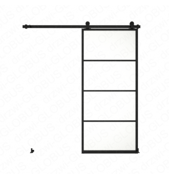 Sliding glass door system LOFT CLASSIC 3