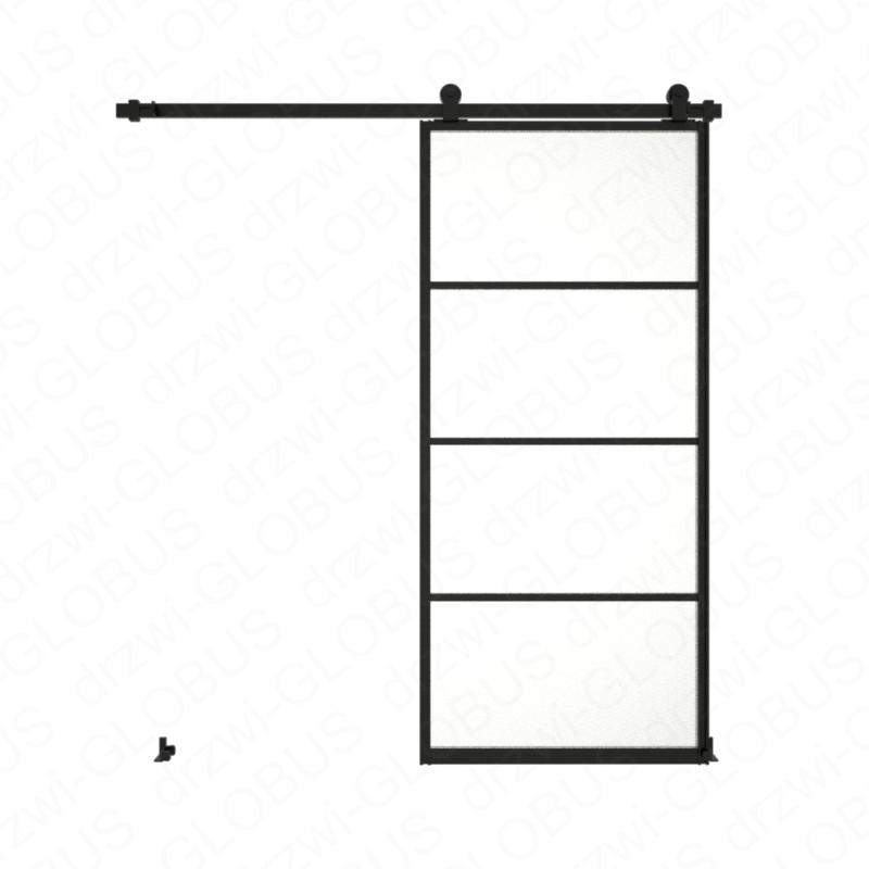 Drzwi szklane przesuwne system LOFT CLASSIC 3