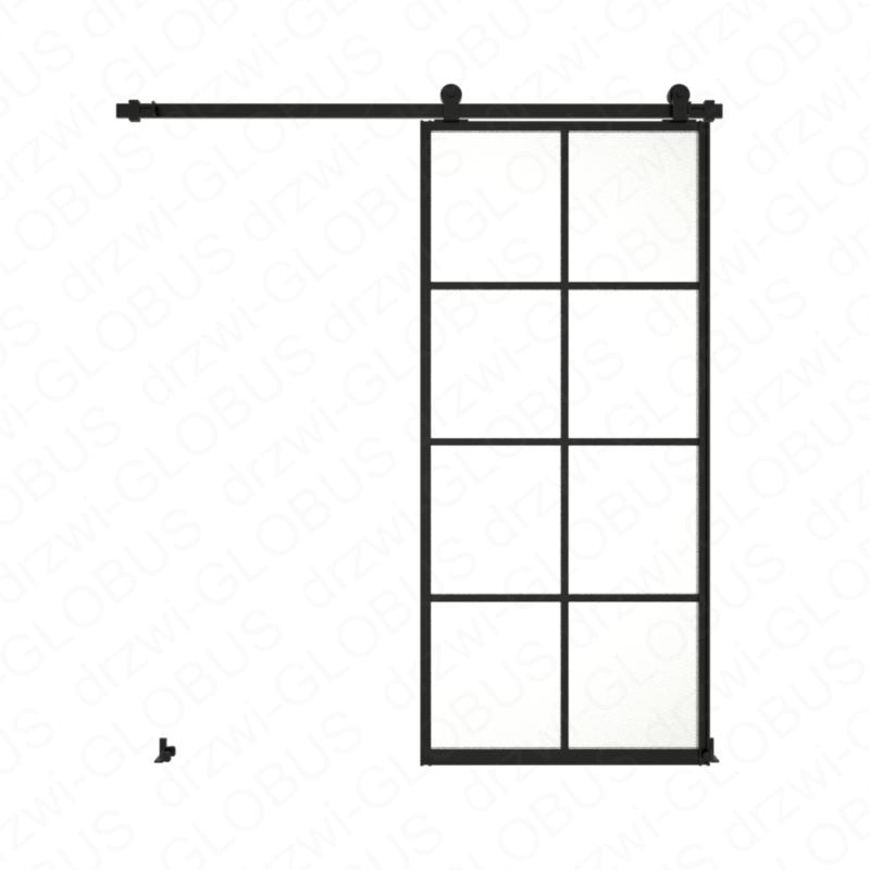 Drzwi szklane przesuwne system LOFT CLASSIC 3P