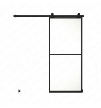 Drzwi szklane przesuwne system LOFT CLASSIC 1 (w 24h)