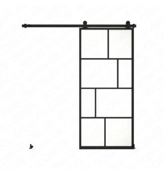 Sliding glass door system LOFT CLASSIC 3N