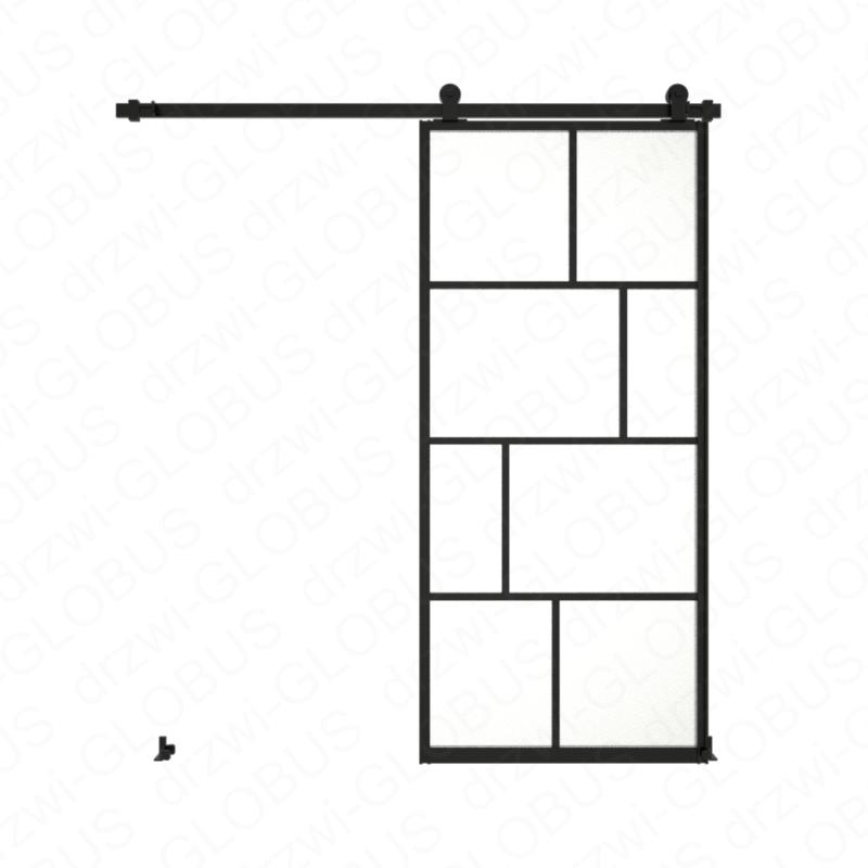 Drzwi szklane przesuwne system LOFT CLASSIC 3N (w 24h)