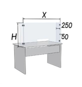 Szklana osłona przeciwwirusowa 1