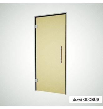Drzwi szklane otwierane do SAUNY, ŁAŹNI PAROWEJ + futryna (na wymiar)