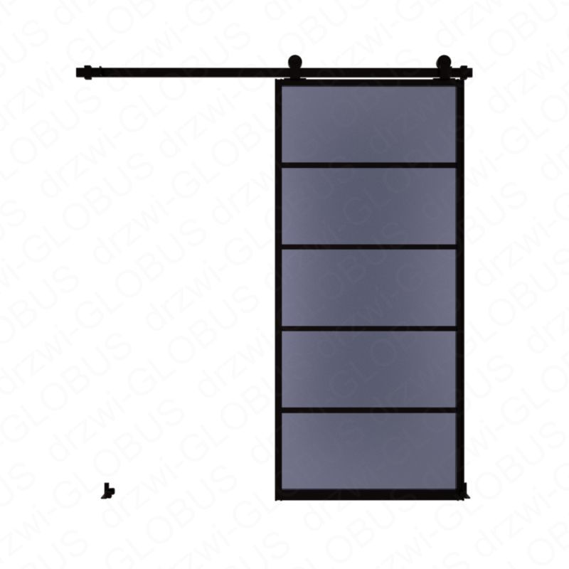 Drzwi szklane przesuwne system LOFT CLASSIC 4