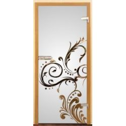 Drzwi szklane wzór 520