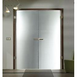 Drzwi szklane otwierane dwuskrzydłowe na wymiar