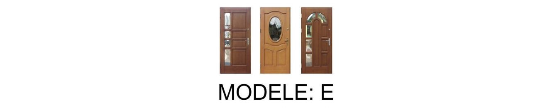Drzwi zewnętrzne: E