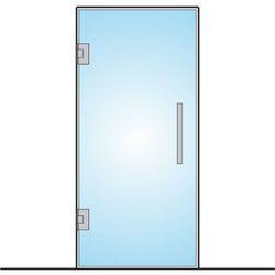 Drzwi wahadłowe ze szkła