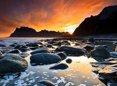 Wschód  / zachód słońca