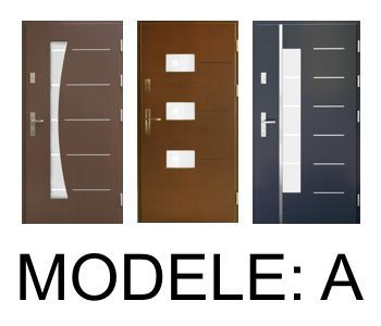 Drzwi zewnętrzne: A