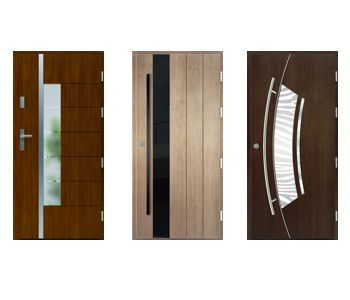 Drzwi zewnętrzne: I