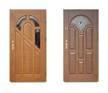 Drzwi zewnętrzne: M